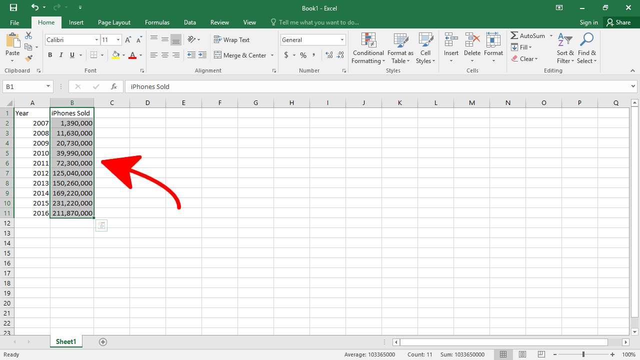 how to make a bar graph on excel